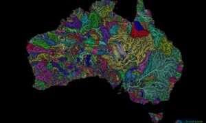 Węgierski artysta tworzy realistyczne mapy rzek z całego świata