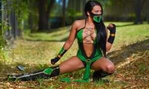 Zelina Vega z WWE wygląda niesamowicie jako Jade z Mortal Kombat 11