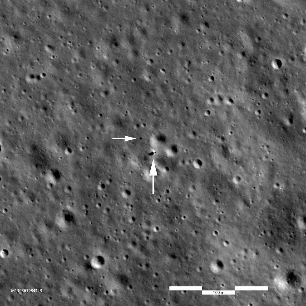 NASA, księżyc NASA, zdjęcie chang'e 4, nasa chang'e 4