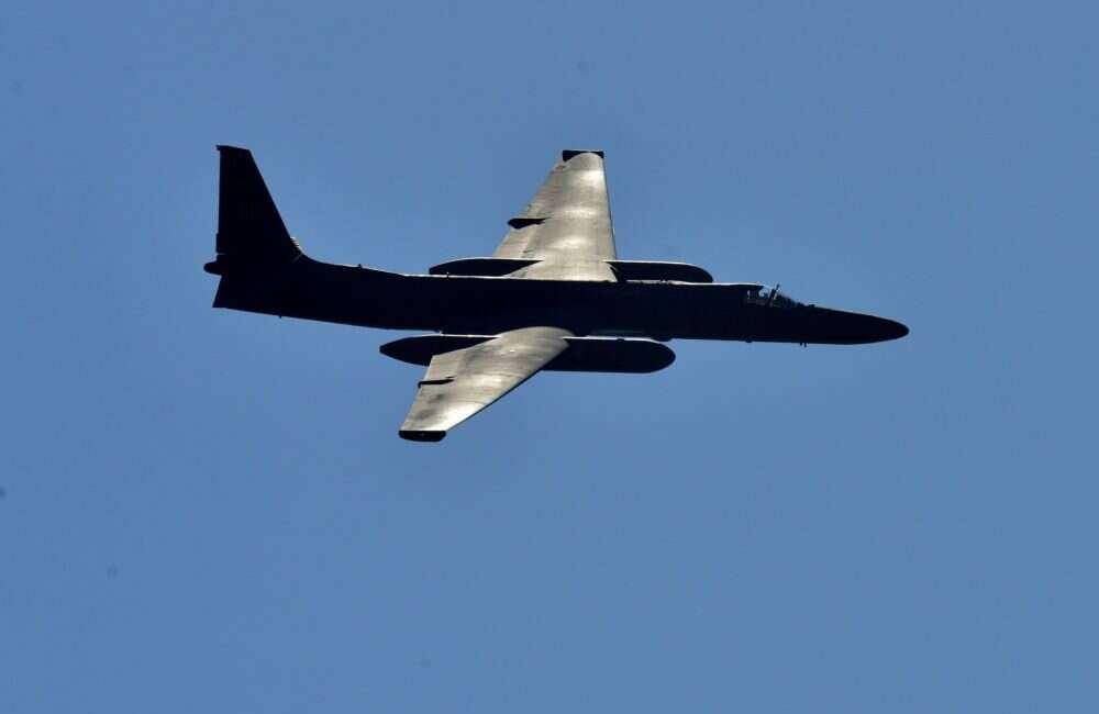 Samolot U-2 nad Kalifornią emituje kod nawiązujący do Star Treka