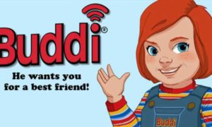 Reklama promująca Buddiego z filmu Child's Play