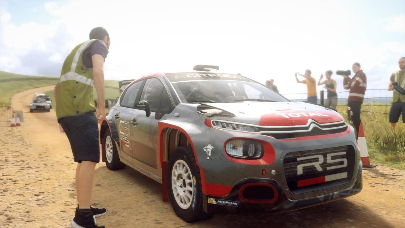 DiRT Rally 2.0 loading