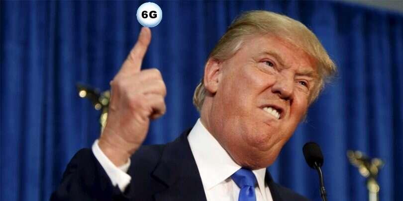 Trump, sieć 6G, 6G, sieć 6G USA, sieć 6G Trump