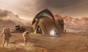 Zbiórka na Mars X-House ma pomóc w rozwoju marsjańskich habitatów