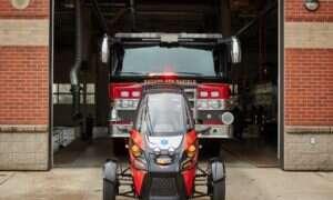 Elektryczny Rapid Responder trafił na strażacką służbę