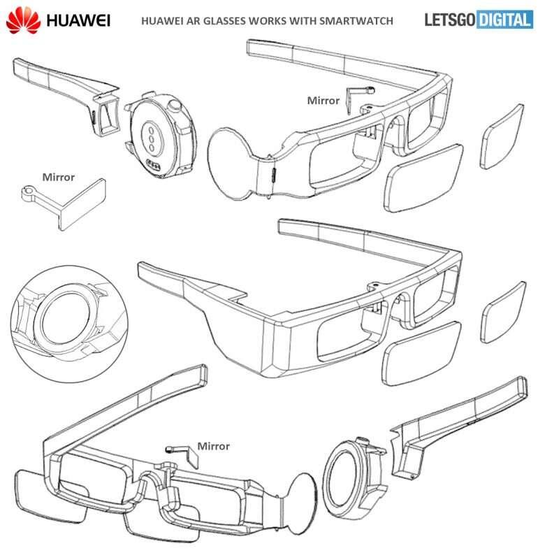 Huawei, okulary AR, okulary rozszerzonej rzeczywistości, okulary Huawei