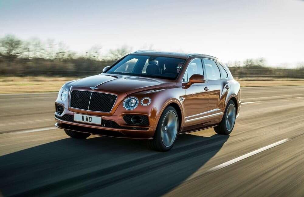 Bentley Bentayga Speed to najszybszy na świecie SUVBentley Bentayga Speed to najszybszy na świecie SUV