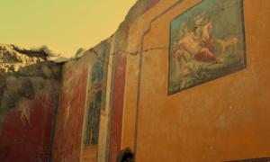 Fresk mitologicznego narcyza został znaleziony w Pompejach
