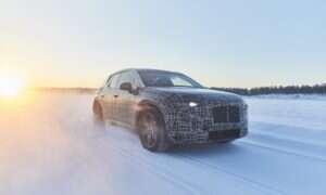 Elektryczny iNext BMW odwiedził Laponię