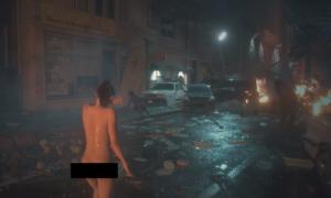 Całkiem naga Claire Redfield z Resident Evil 2 Remake już dostępna