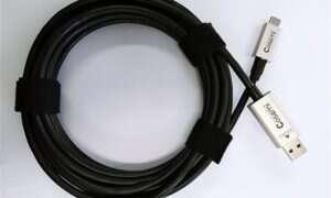 Nowy przewód USB 3.1 utrzymuje przepustowość 10 Gb/s nawet do 50 metrów