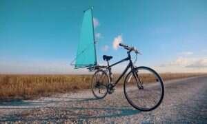 CycleWing przemieni twój rower w żaglówkę. A przynajmniej w rower z żaglem…
