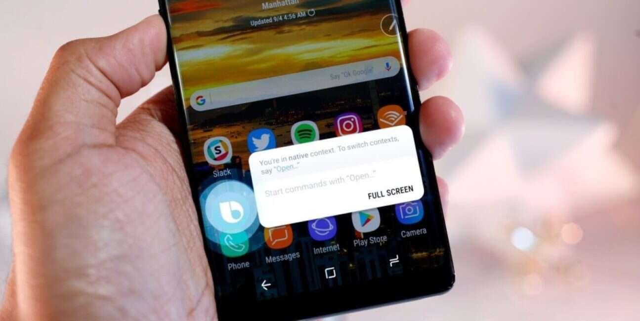 Bixby, smartfon Bixby, przycisk Bixby, zmiana Bixby