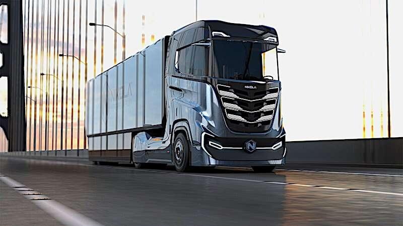 Elektryczne samochody ciężarowe od Nikola Motor ukażą się nam w kwietniu