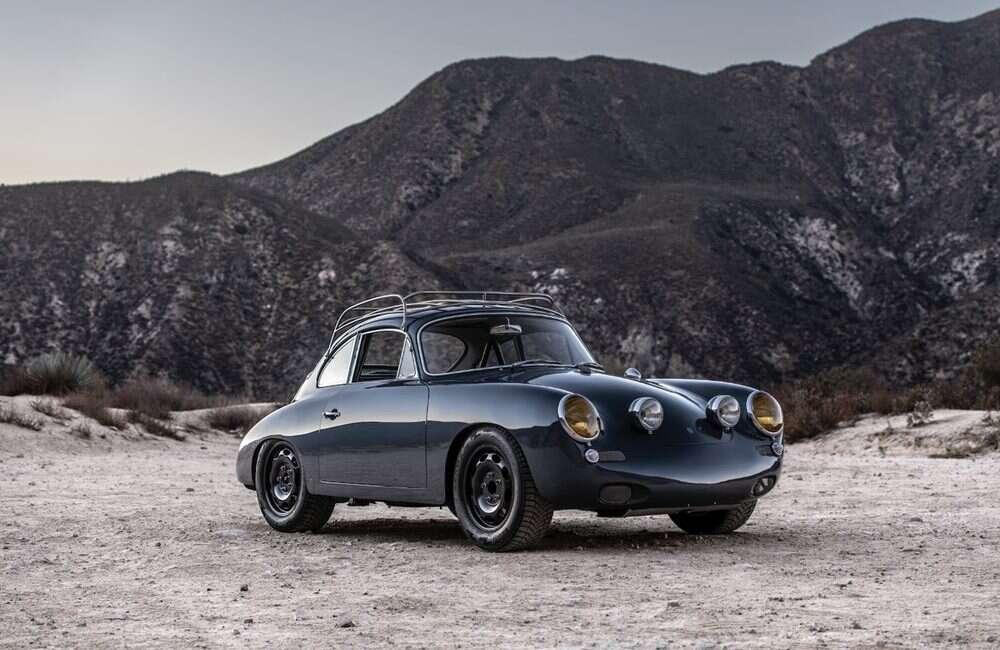 Klasyczny Porsche 356 w terenowym wydaniu AllRad 356
