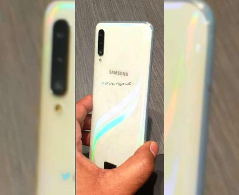 Galaxy A50, samsung Galaxy A50, biały Galaxy A50, biały kolor Galaxy A50, prism white Galaxy A50