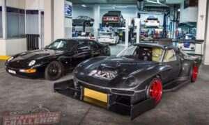 Nie uwierzycie, że pod tą toną blachy ukrywa się Porsche 968
