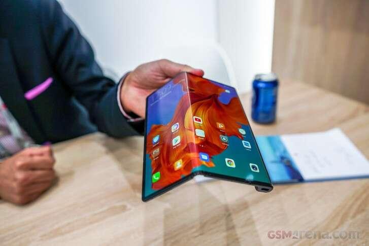 Huawei Mate X, szybkie ładowanie 55 W, ładowanie 55W, Supercharge