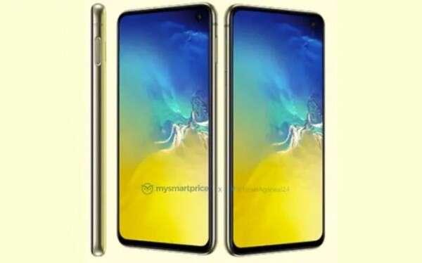 żółta wersja Galaxy S10E, żółty Galaxy S10E, modele Galaxy S10E, kolory Galaxy S10E