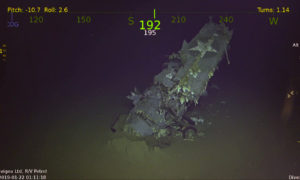 Poszukiwacze natrafili na USS Hornet z okresu II wojny światowej