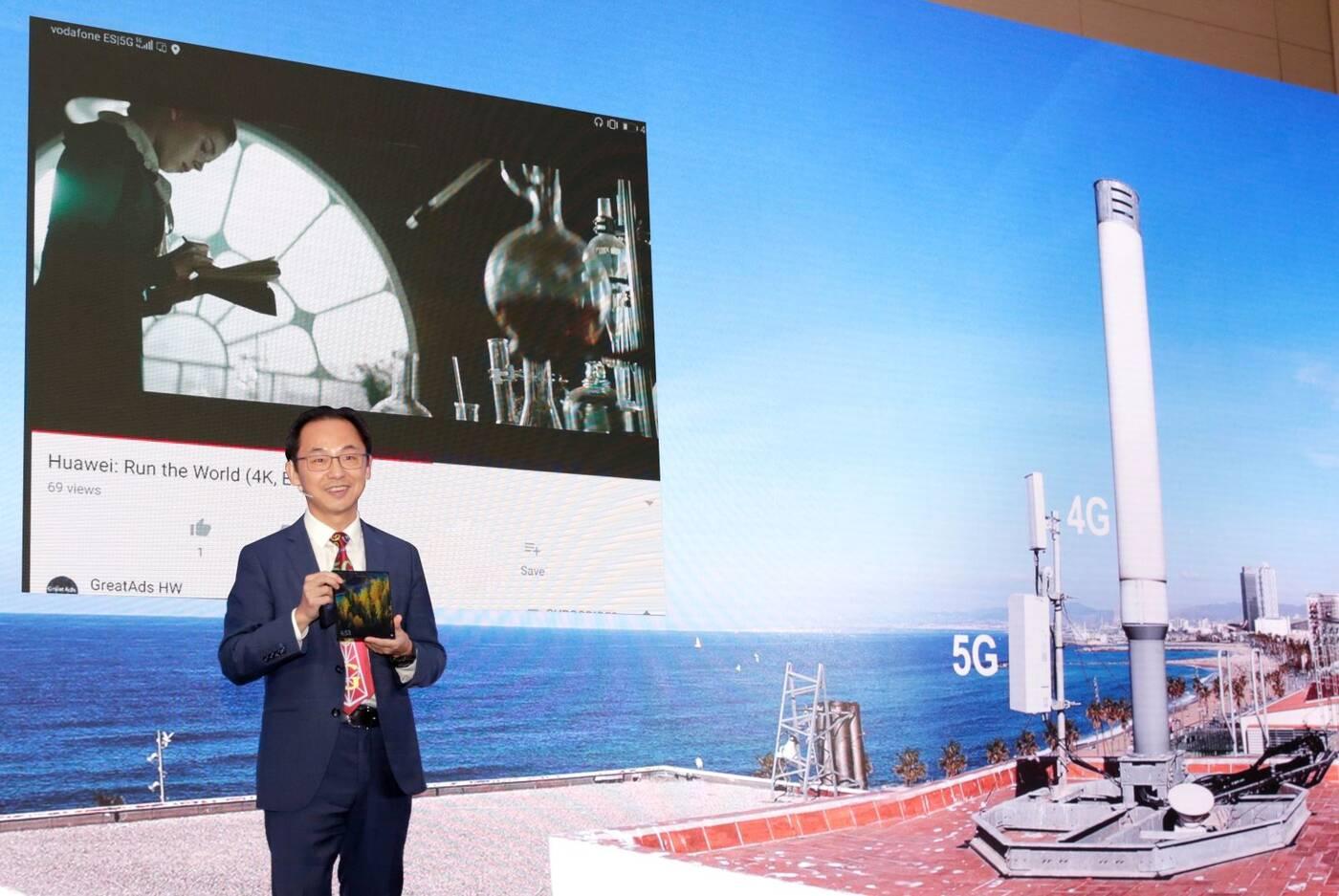 Huawei, 5G Huawei, sieć 5G Huawei, streamowanie 5G, streamowanie Huawei, streamowanie sieć 5G