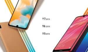 Huawei zaprezentował nowe smartfony z serii Y 2019