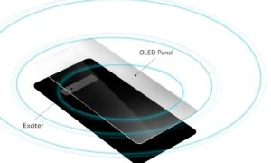 LG G8 z głośnikami w wyświetlaczu OLED