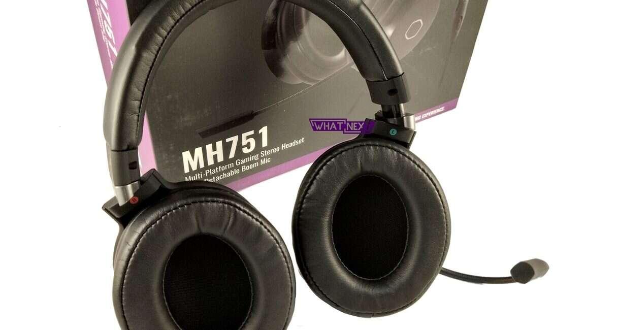 Test zestawu słuchawkowego Cooler Master MH751