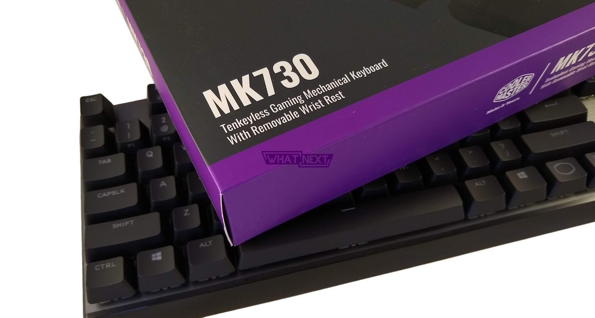 Test klawiatury mechanicznej Cooler Master MK730