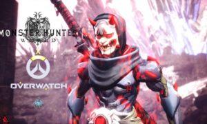 Monster Hunter World x Overwatch – Genji trafił do gry Capcomu