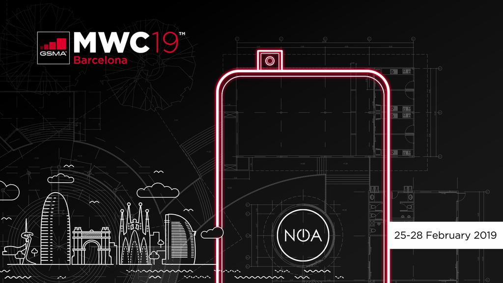 NOA, smartfony NOA, MWC NOA, telefony NOA, MWC 2019 NOA, telewizor NOA,