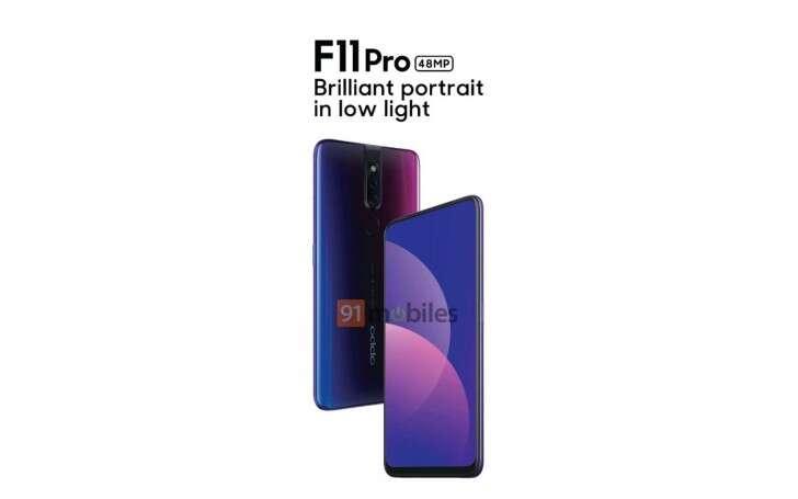 Oppo F11 Pro, render Oppo F11 Pro, wygląd Oppo F11 Pro, design Oppo F11 Pro