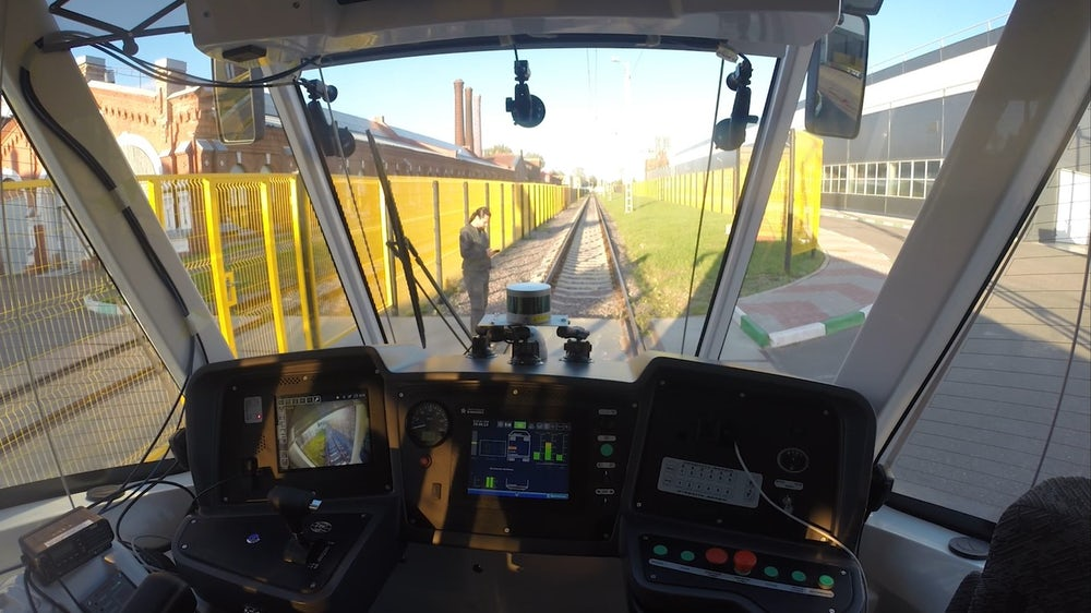 Autonomiczny tramwaj przejdzie zamknięte testy przed debiutem w Moskwie