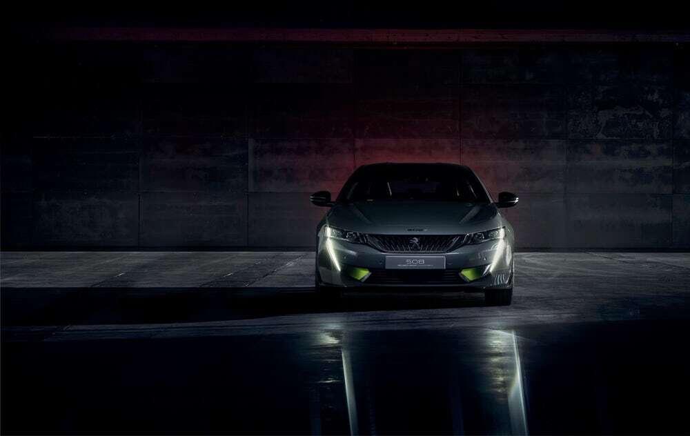 Koncept Peugeot 508 pokazuje sportową stronę hybryd