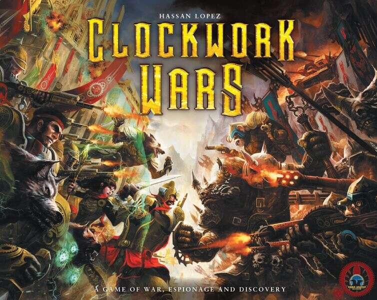 Clockwork Wars tło