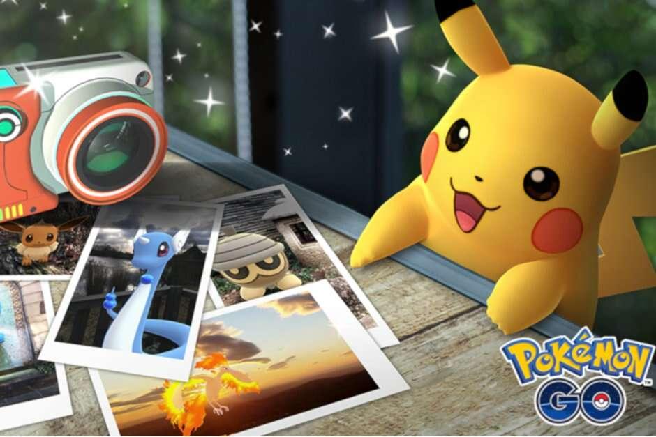 Pokemon GO, zdjęcia Pokemon GO, snap Pokemon GO, snapshot Pokemon GO
