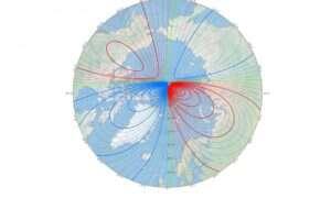 Magnetyczny biegun Ziemi porusza się bardzo szybko