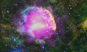 Fala uderzeniowa supernowej rozgrzała atomy do ogromnych temperatur