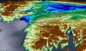 Pod lodem Grenlandii znajduje się ogromny krater