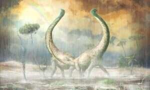Ten olbrzymi tytanozaur dostarcza informacji o ewolucji dinozaurów