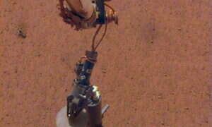 Lądownik InSight wkopie się na 5 metrów w głąb Marsa