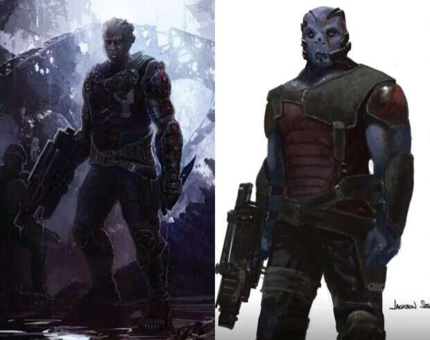Alternatywny wygląd złoczyńców Marvela - Korath