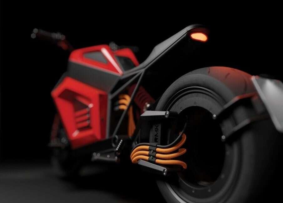 RMK wreszcie pokazało działający prototyp swojego elektrycznego motocykla E2