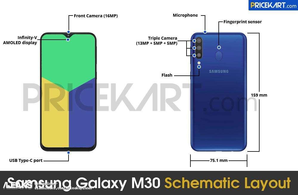 Galaxy M30, samsung Galaxy M30, specyfikacja Galaxy M30, wygląd Galaxy M30