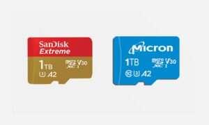 SanDisk i Micron ujawniają pierwsze 1 TB karty microSD