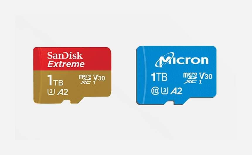 sandisk 1 tb, micron 1 tb, cena sandisk 1 tb, mcirosd 1 tb, cena microsd 1 tb
