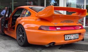 Tak jeździ Porsche 911 zlepione z samochodów kilku generacji