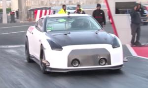 Nissan GT-R przebił rekord prędkości na ćwierć mili