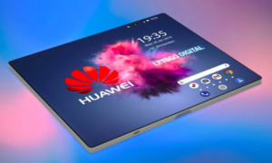 Nowe rendery składanego smartfona Huawei