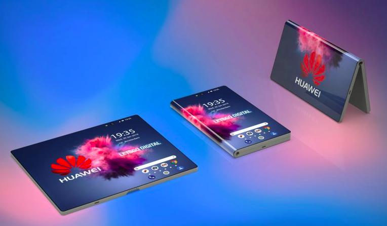 składany smartfon, składany smartfon Hauwei, rendery składany smartfon, rendery Huawei